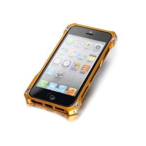 Чехол-бампер для Apple iPhone 5/5S - Element case Sector 5 золотистый