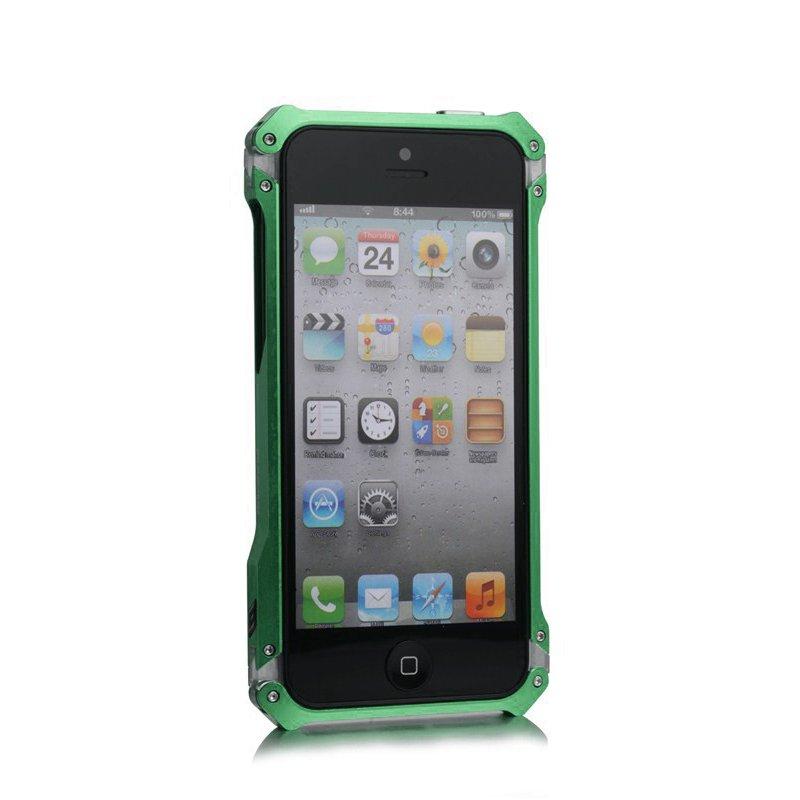 Чехол-бампер для Apple iPhone 5/5S - Element case Sector 5 зеленый