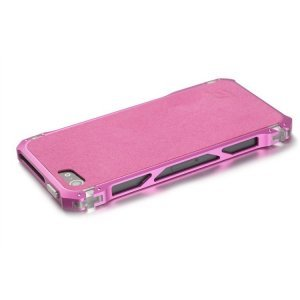 Чехол-бампер для Apple iPhone 5/5S - Element case Sector 5 Fiber Edition розовый