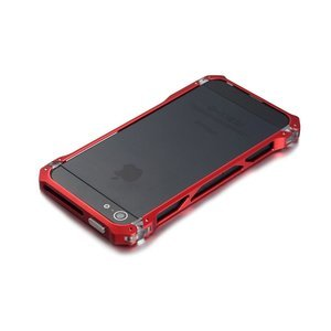 Чехол-бампер для Apple iPhone 5/5S - Element case Sector 5 Fiber Edition красный