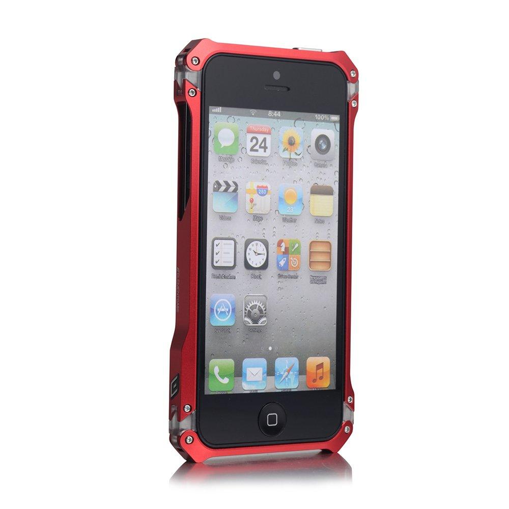 Чехол-бампер для Apple iPhone 5/5S - Element case Sector 5 Fiber Edition красный