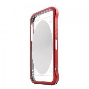 Чехол-бампер для Apple iPhone 5/5S - Love Mei Vapor 5 красный