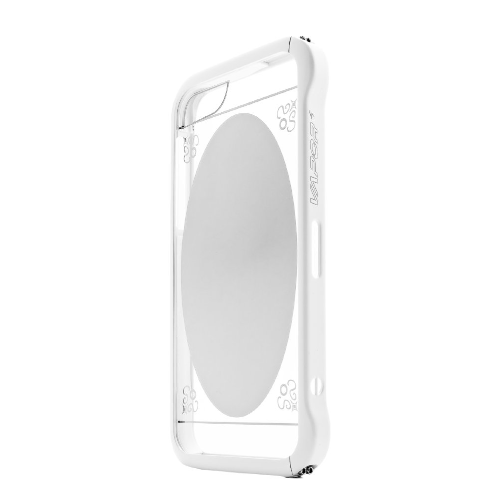 Чехол-бампер для Apple iPhone 5/5S - Love Mei Vapor 5 белый