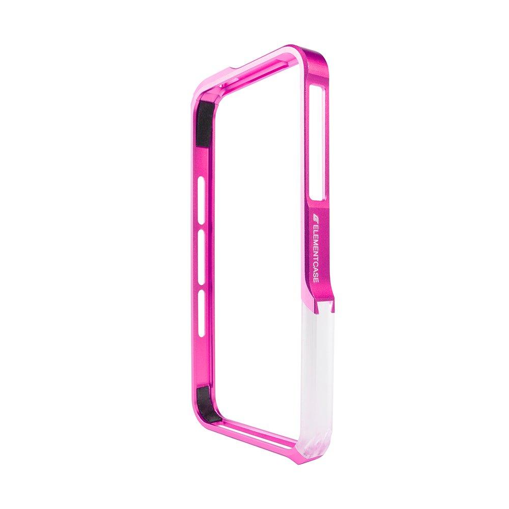 Чехол-бампер для Apple iPhone 5/5S - Element case Vapor Pro розовый