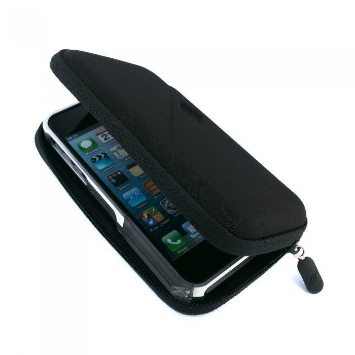 Чехол-бампер для Apple iPhone 5/5S - Element case Vapor Pro серебристый + розовый
