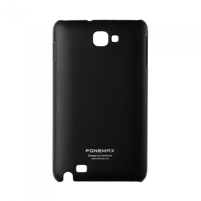 Чехол-накладка для SamsungGalaxyNoteN7000 - Fonemax Hard Shell черный