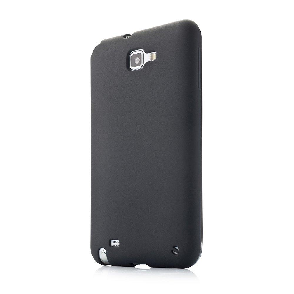 Чехол-накладка для SamsungGalaxy NoteN7000 - Fonemax Silicon Case черный