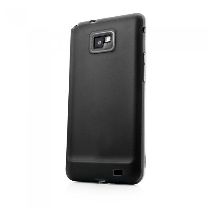 Чехол-накладка для SamsungGalaxySII - Fonemax Silicon Case черный
