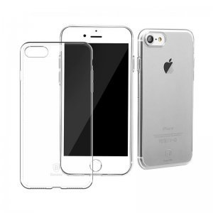 Прозрачный силиконовый чехол Baseus Simple для iPhone 8/7/SE 2020