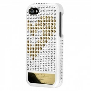 Чехол-накладка для Apple iPhone 5S/5 - Lucien Elements Hearts Exclusive Selections белый + черный