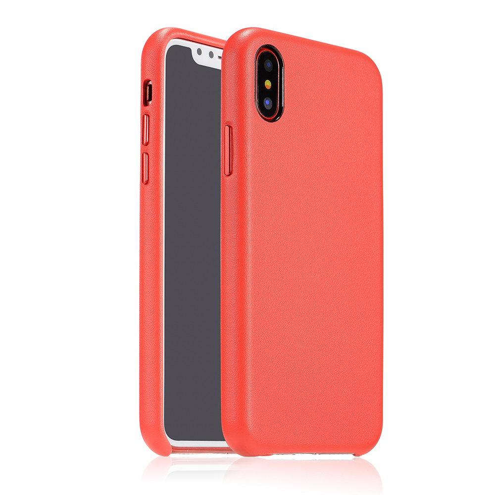 Чехол Coteetci Elegant PU Leather красный для iPhone X/XS