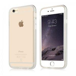Чехол-накладка для Apple iPhone 6S - Baseus Golden прозрачный