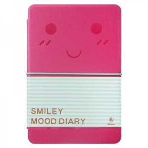 Чехол-книжка для Apple iPad mini 2/3/iPad mini - Baseus Mood diary розовый