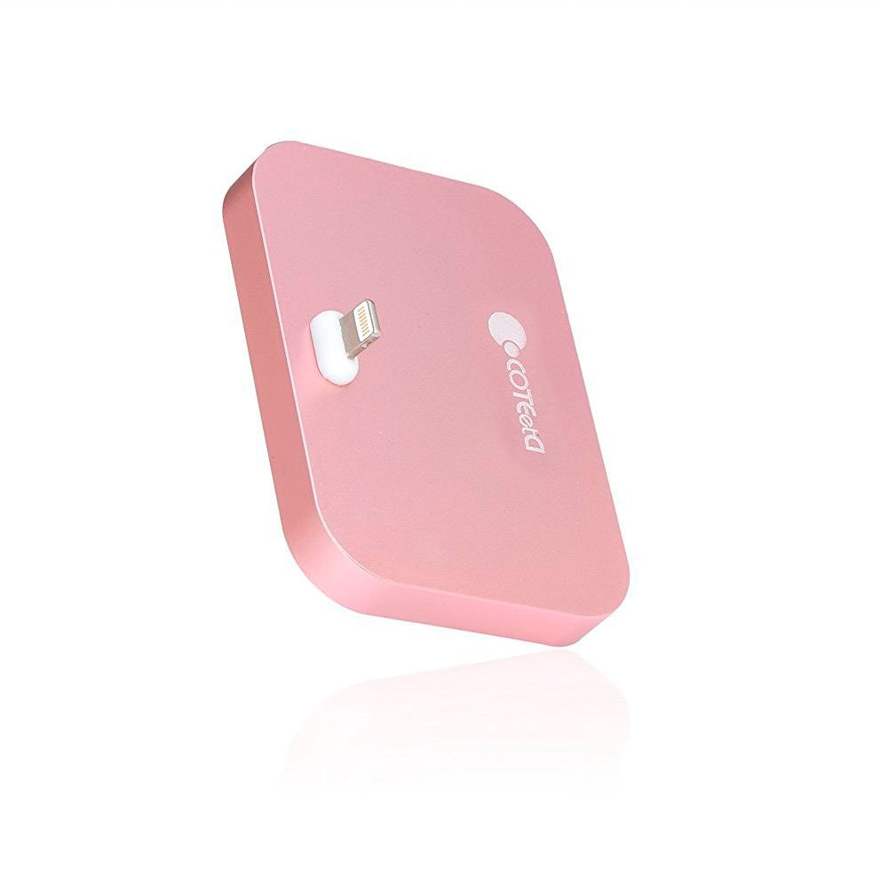 Док-станция для iPhone - COTEetCI Base8 розовая
