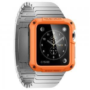 Чехол-накладка Spigen Tough Armor оранжевый для Apple Watch 42mm
