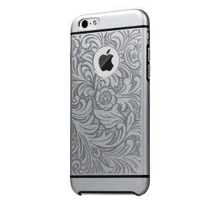 Чехол с рисунком iBacks Essence Cameo Venezia серый для iPhone 6/6S