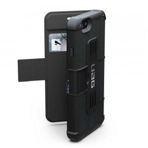 Чехол-книжка для Apple iPhone 6/6S Plus - Urban Armor Gear Folio чёрный