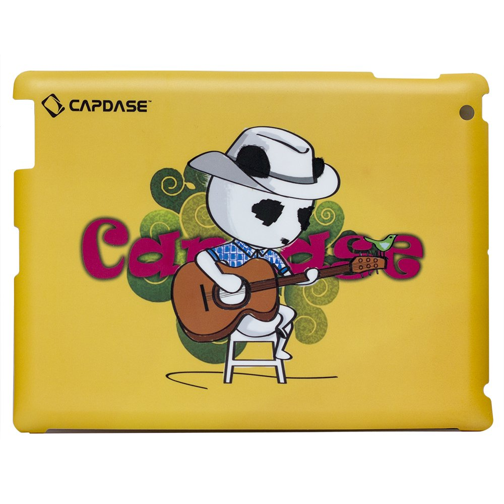 Наклейка для Apple iPad 2/3/4 - Capdase ProSkin Don Country желтая