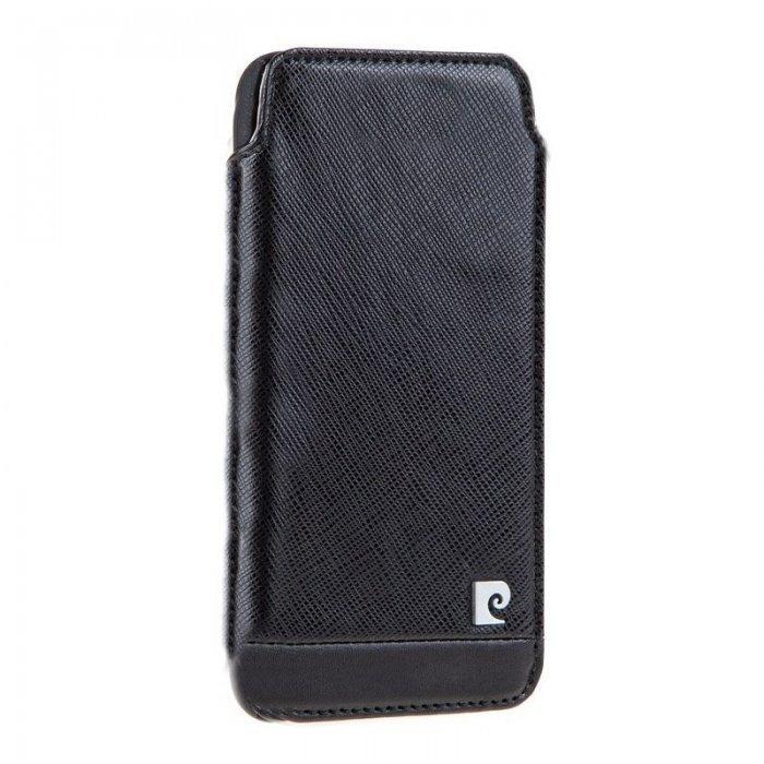 Чехол-карман для Apple iPhone 6/6S - Pierre Cardin (PCG-J01) черный