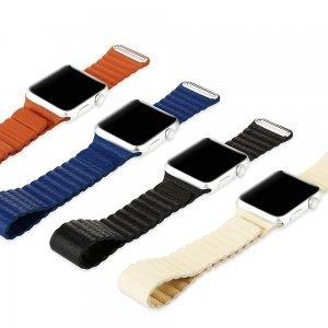 Ремешок Baseus Back Series бежевый для Apple Watch 42мм