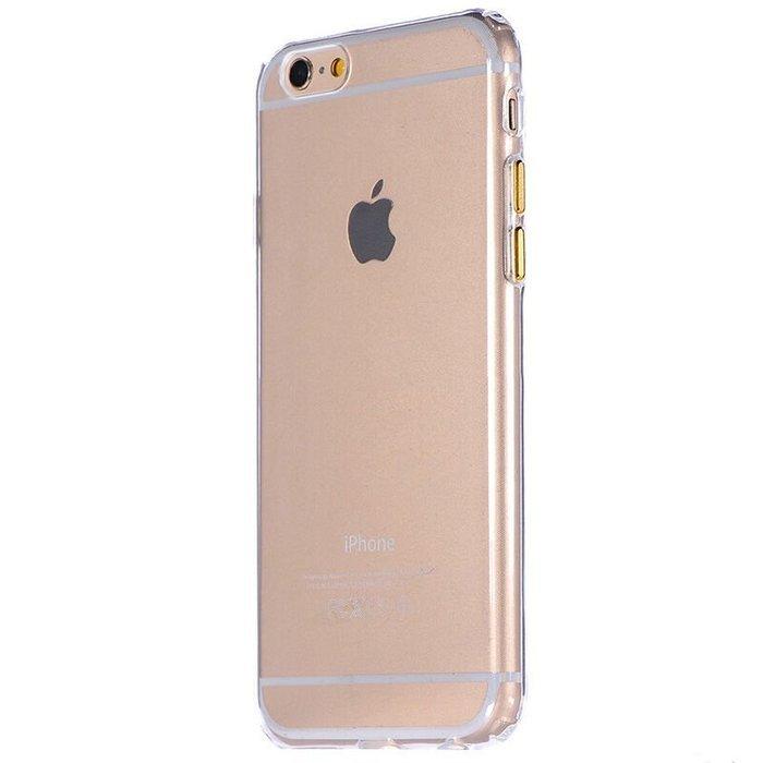 Прозрачный чехол COTEetCI ABS прозрачный + золотой для iPhone 6/6S