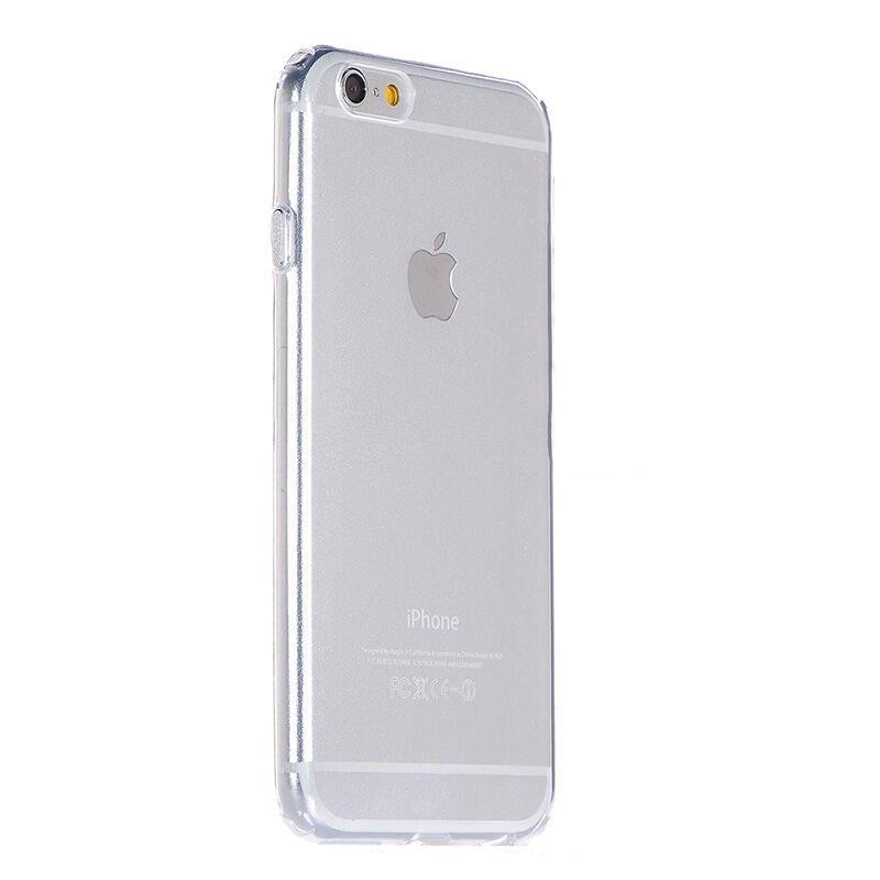 Силиконовый чехол COTEetCI ABS прозрачный + золотой для iPhone 6 Plus/6S Plus