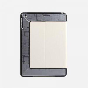 Чехол с орнаментом iBacks Flame белый для iPad Air/iPad (2017/2018)