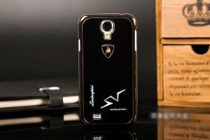 Чехол-накладка для Samsung Galaxy S4 - Lamborghini design черный