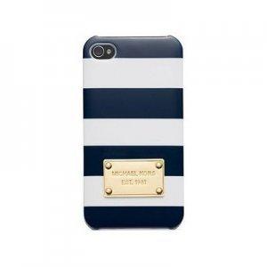 Чехол-накладка для Apple iPhone 5/5S - Michael Kors Design синий
