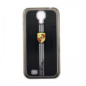 Чехол-накладка для Samsung Galaxy S4 - Porsche design черный