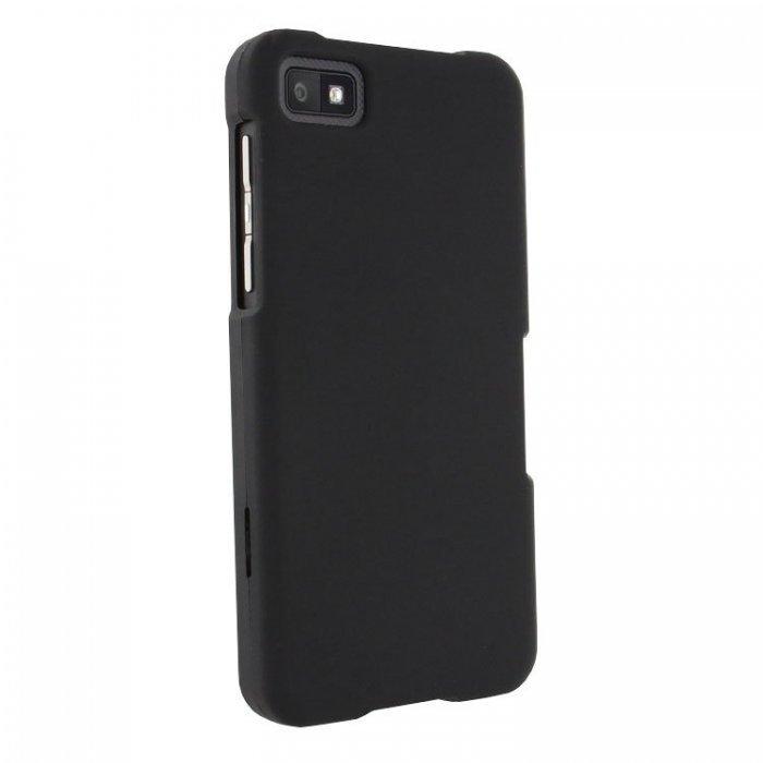 Чехол-накладка для BlackBerry Z10 - Hard Shell Case черный