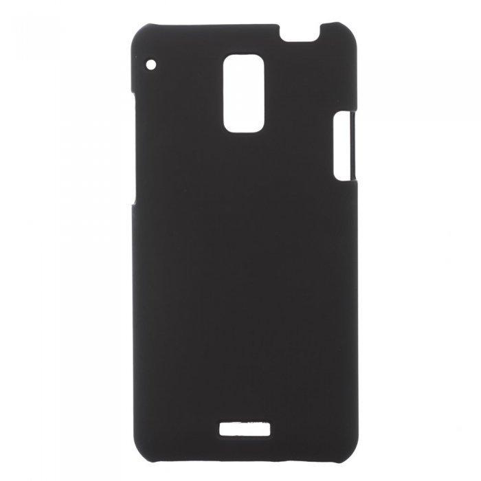 Чехол-накладка для HTCButterfly J- Hard Shell Case черный