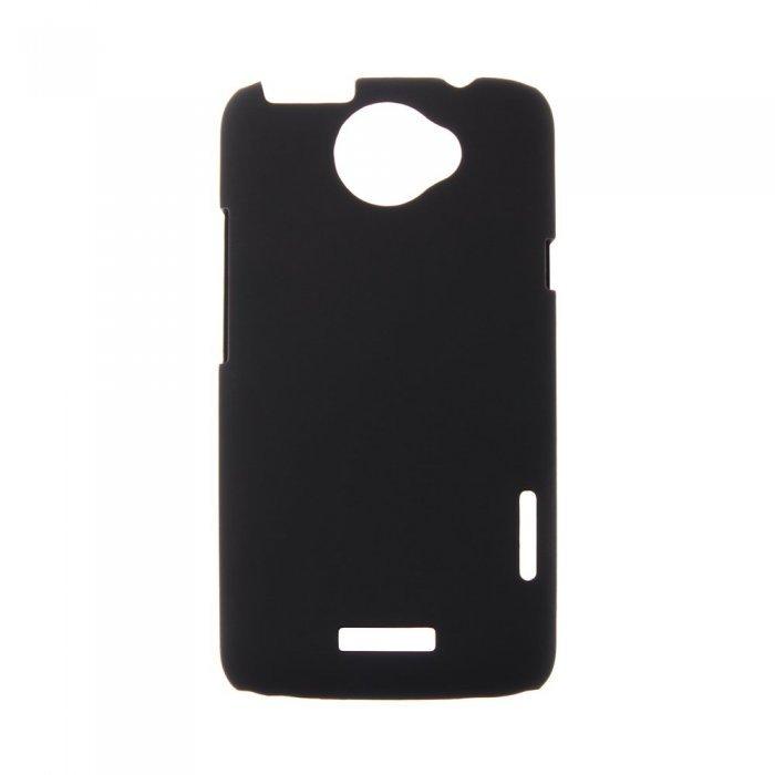 Чехол-накладка для HTCOneXs720e - Hard Shell Case черный