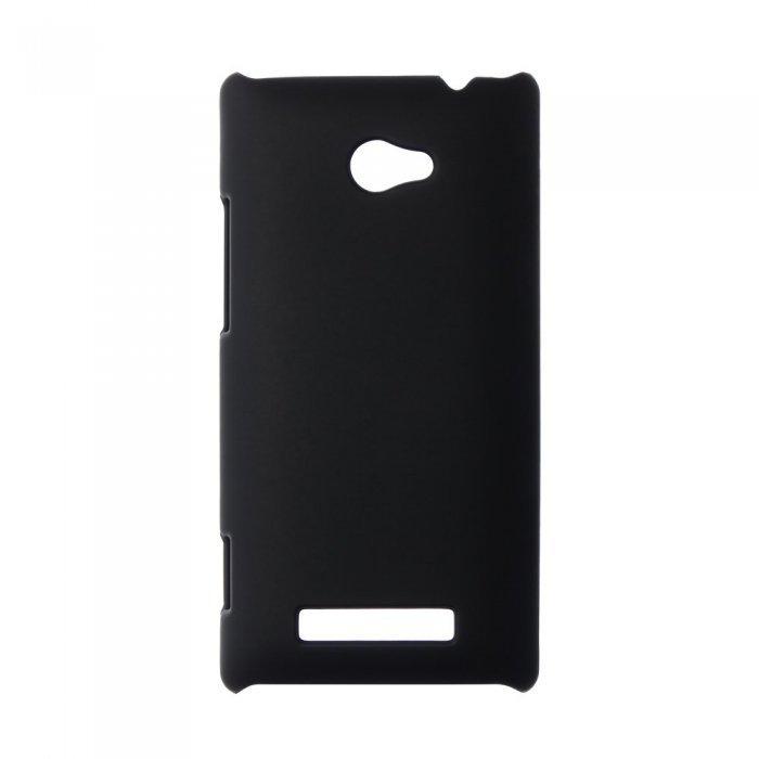 Чехол-накладка для HTCWindowsPhone8x - Hard Shell Case черный