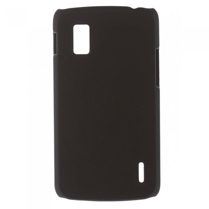 Чехол-накладка для LG Nexus 4 E960 - Hard Shell Case черный