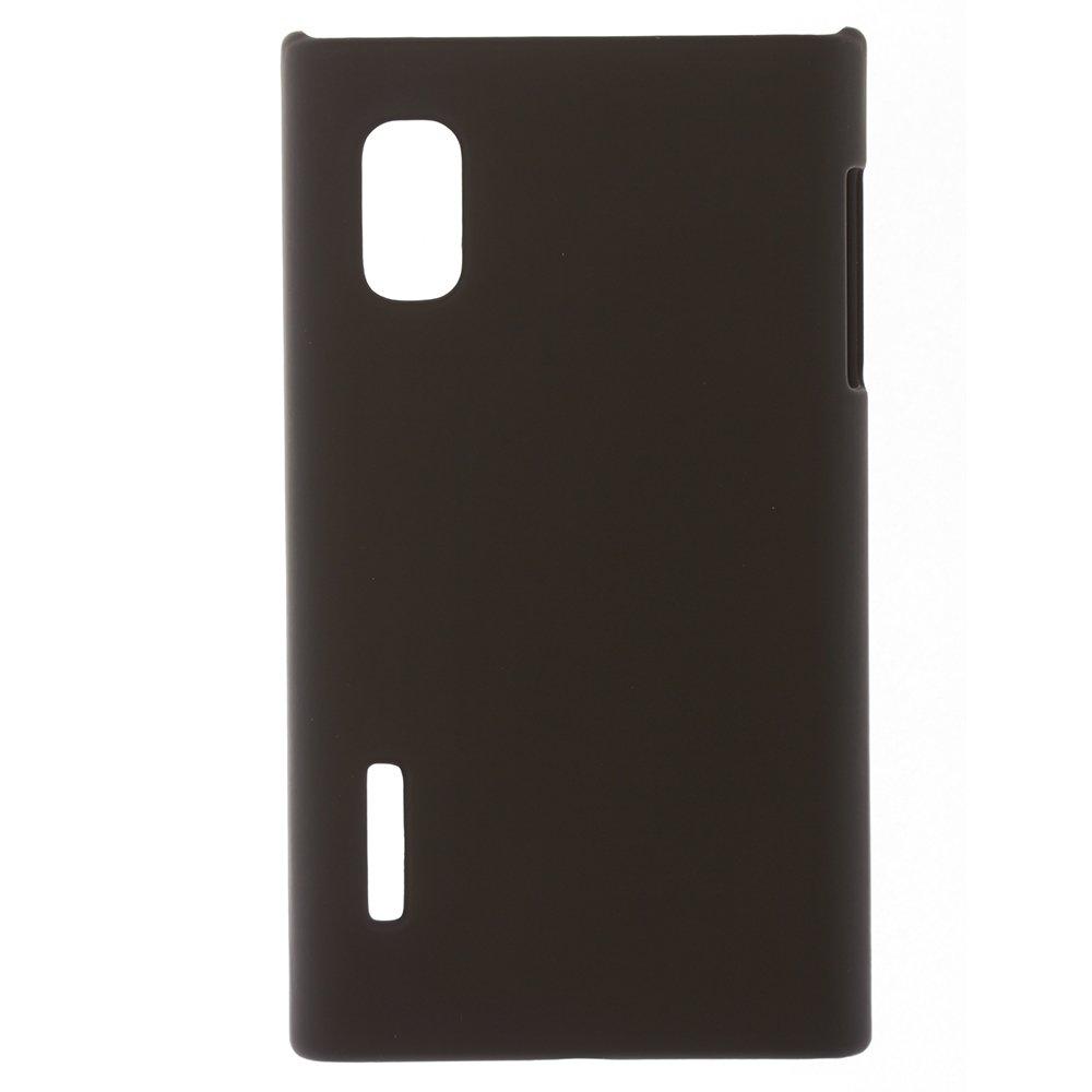 Чехол-накладка для LG OptimusL5 - Hard Shell Case черный
