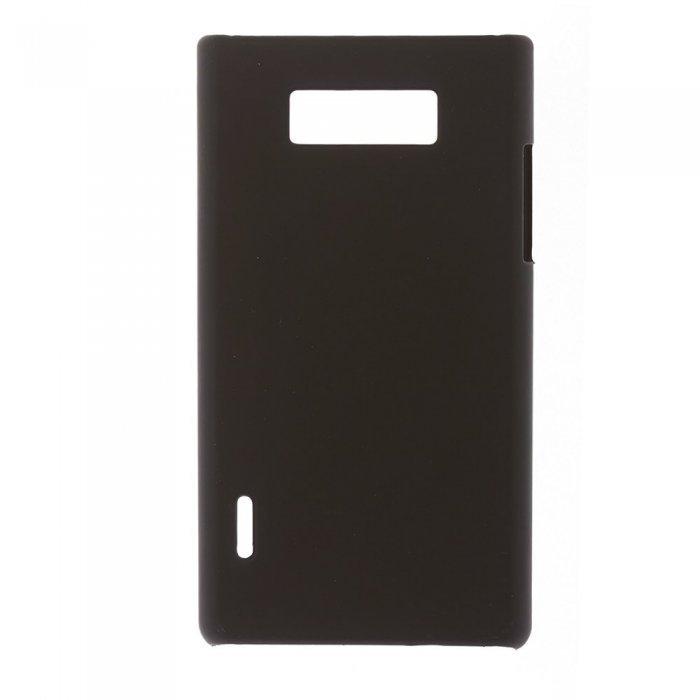 Чехол-накладка для LG OptimusL7 - Hard Shell Case черный