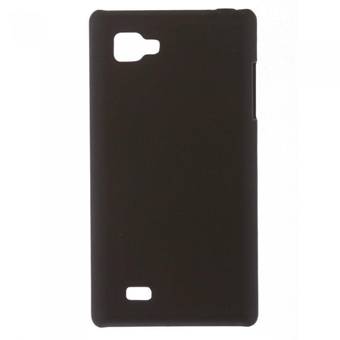 Чехол-накладка для LG Optimus 4x HD P880 - Hard Shell Case черный