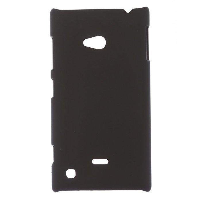 Чехол-накладка для NokiaLumia720 - Hard Shell Case черный