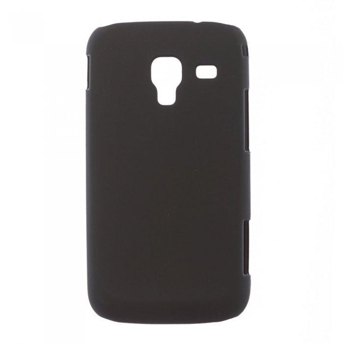 Чехол-накладка для Samsung Galaxy Ace II I8160 - Hard Shell черный