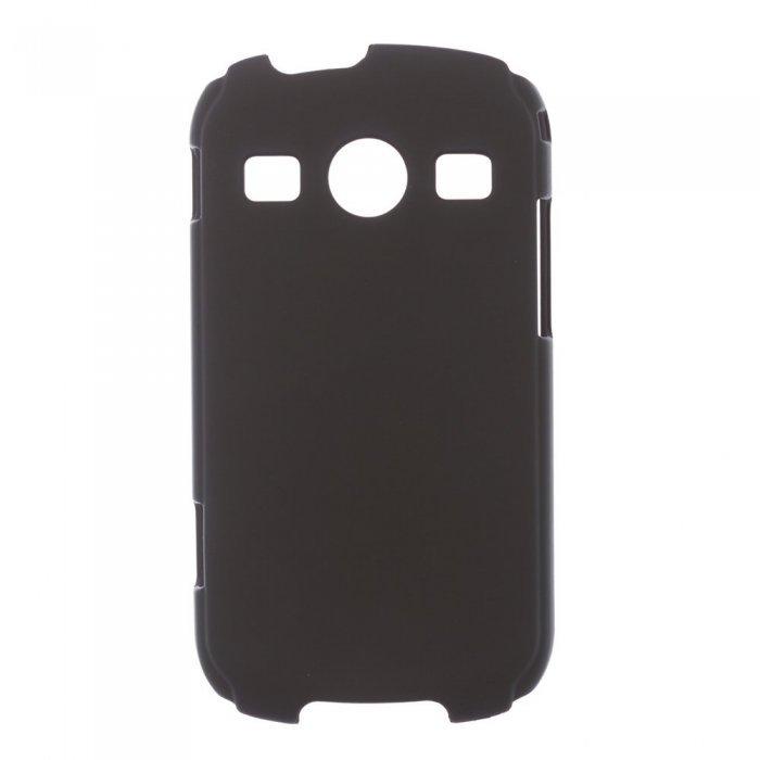 Чехол-накладка для Samsung Galaxy Xcover 2 S7710 - Hard Shell черный