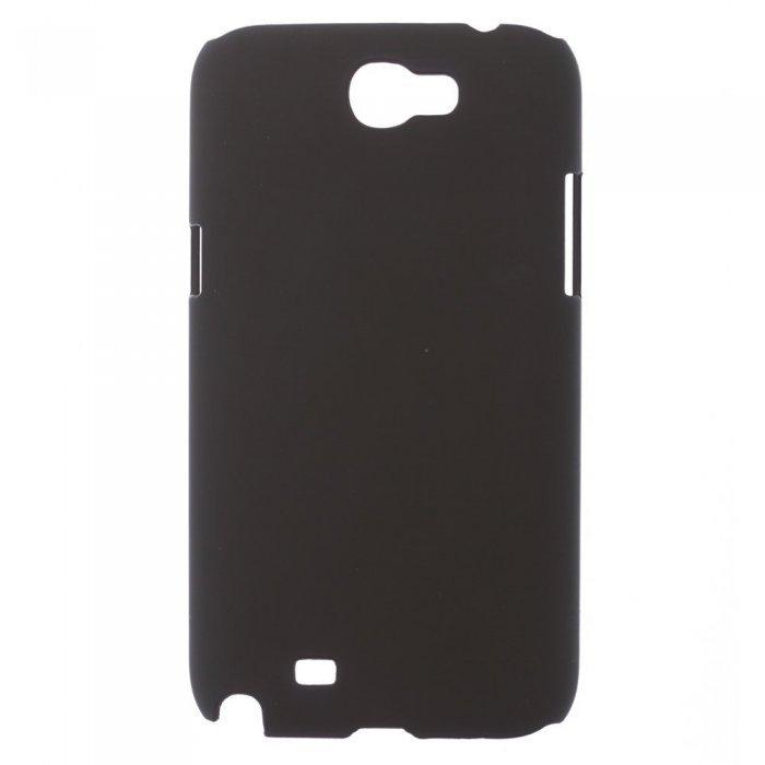 Чехол-накладка для SamsungGalaxyNoteIIN7100 - Hard Shell черный
