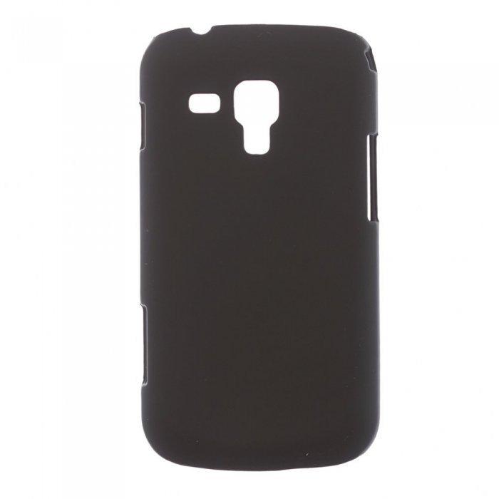 Чехол-накладка для SamsungGalaxyS4minii9190 - Hard Shell черный