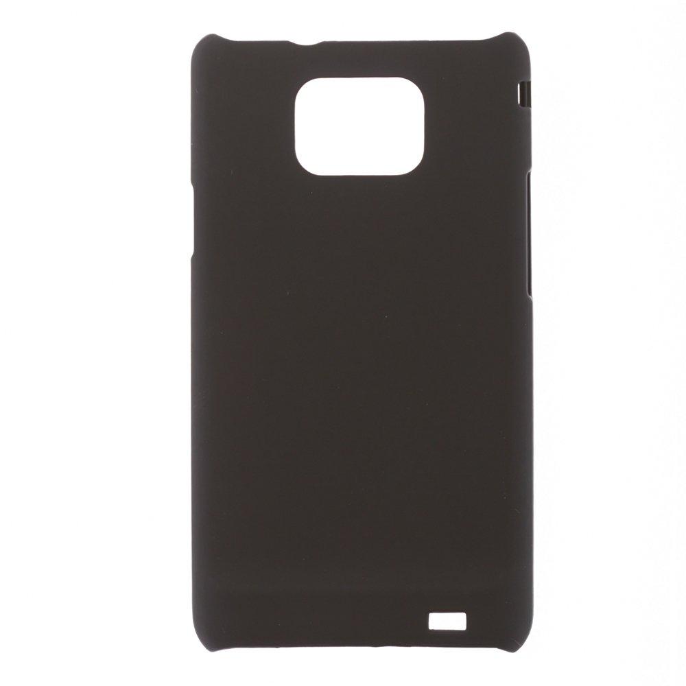 Чехол-накладка для SamsungGalaxySII Plusi9100/i9105 - Hard Shell черный