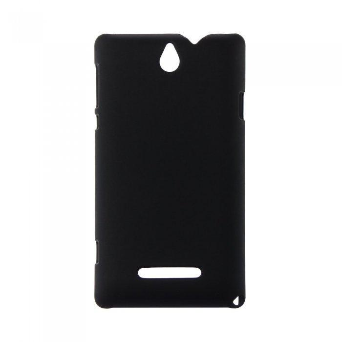 Чехол-накладка для Sony Xperia E Dual C1605 - Hard Shell черный