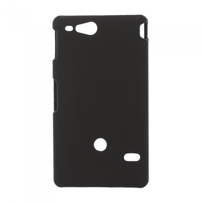 Чехол-накладка для Sony Xperia Go ST27i - Hard Shell черный