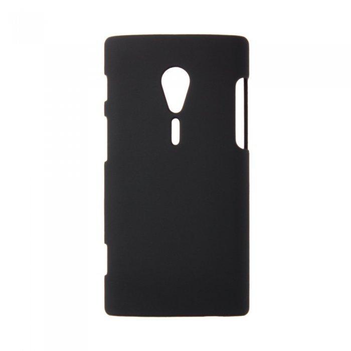 Чехол-накладка для Sony Xperia Ion LT28i - Hard Shell черный