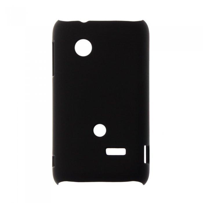 Чехол-накладка для Sony Xperia tipo ST21i - Hard Shell черный