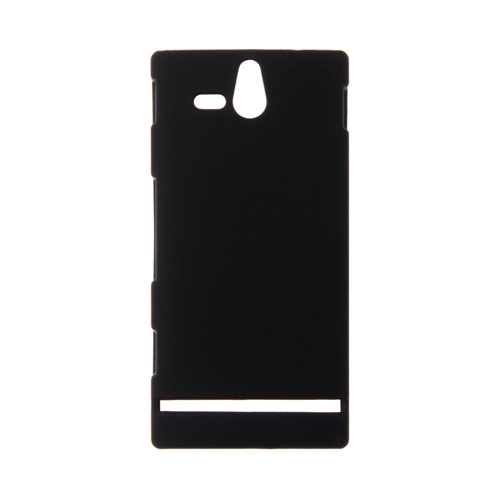 Чехол-накладка для Sony Xperia U ST25i - Hard Shell черный