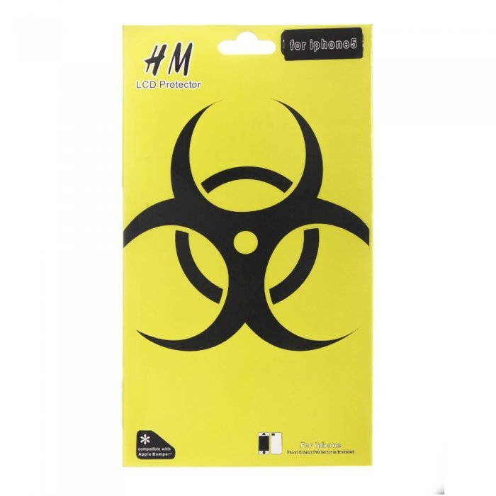 Наклейка для Apple iPhone 5/5S - HM Skin BioHazard